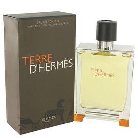 Terre D'Hermes by Hermes Eau De Toilette Spray 6.7 oz - Men