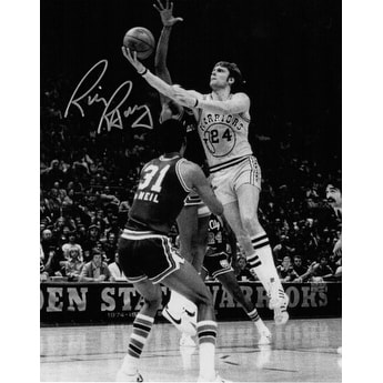 7b68c44ca751 Shop Rick Barry signed Golden State Warriors 8x10 BW Vintage Photo - Free  Shipping Today - Overstock - 19868119