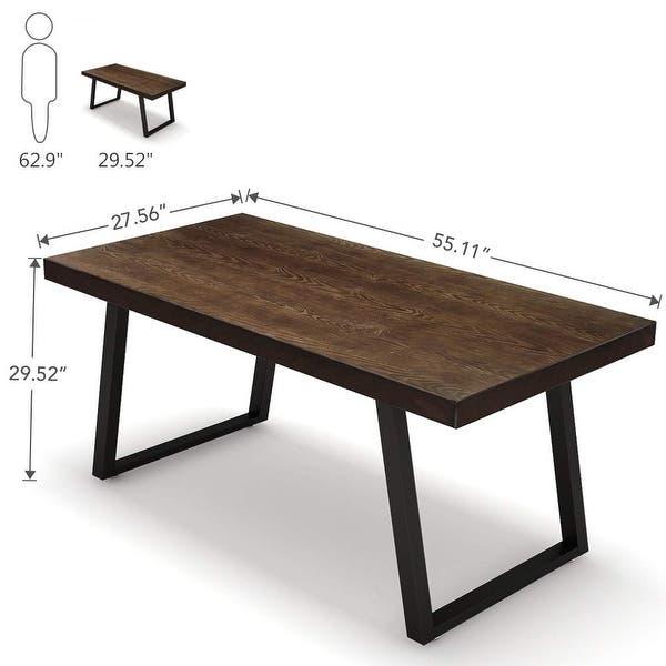 55 Rustic Solid Wood Computer Desk