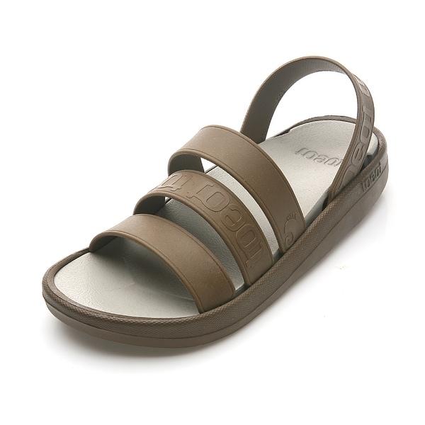 TOEOT Men's TA Sandal, Customizable Sandals, Brown