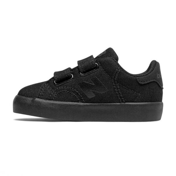 New Balance Baby KVCRTTBI Sneakers, Black, Size 2 W US Kids