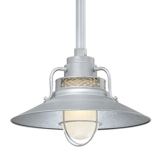 "Millennium Lighting RRRS14 R Series 1 Light 14"" Wide Outdoor Shade"