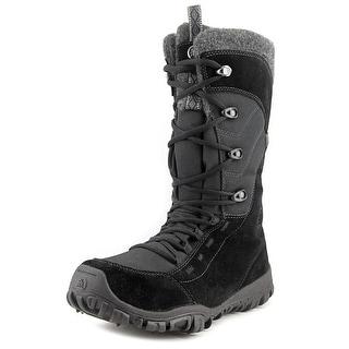Icebug Diana Women Round Toe Suede Black Winter Boot