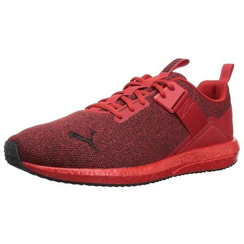 Puma Womens Mega NRGY Street Mesh Low Top Lace Up Tennis Shoes