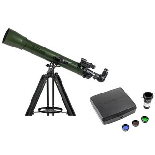 Celestron ExploraScope 70AZ Refractor-Intermediate Imaging Telescope