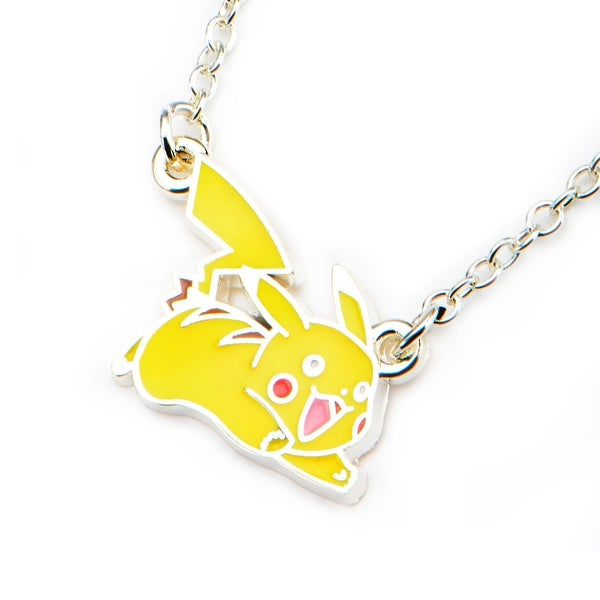 Pokémon Pikachu Enamel Pendant Necklace - multi
