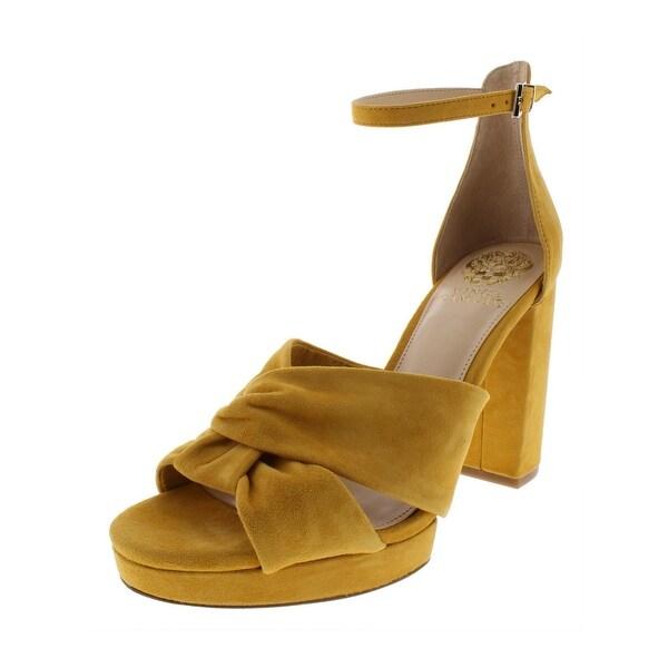 7a968ae84ce9 Shop Vince Camuto Womens Corlesta D Orsay Heels Suede Block Heel ...