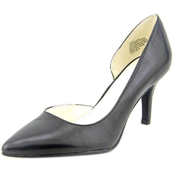 Anne Klein Yolden Women Pointed Toe Leather Heels