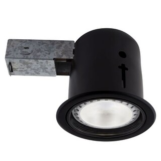 "Bazz Lighting 410L11 410 Led 5.625"" Medium (E26) Baffle Trim Integrated Recessed"