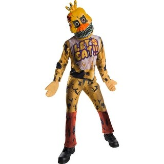 Child Nightmare Chica the Chicken Costume