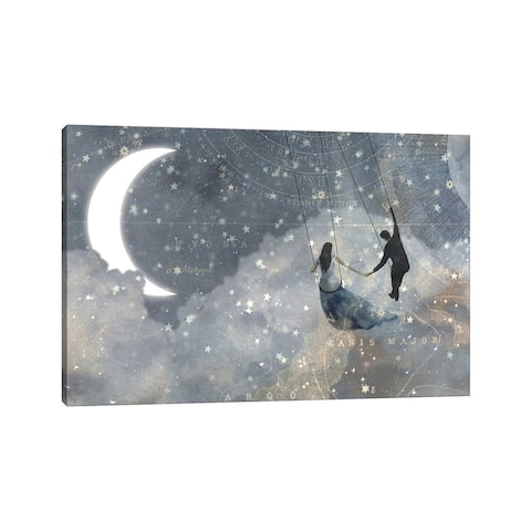 "iCanvas ""Celestial Love Collection D"" by Victoria Borges Canvas Print"