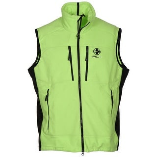 Ralph Lauren RLX Full Zip Fleece Vest Rescue Green X-Large