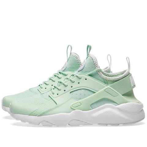 1c3ceb940d87 Nike Mens Air Huarache Run Ultra Fabric Low Top Lace Up Running Sneaker