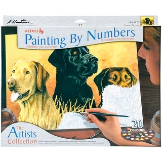 "Paint By Number Kit Artist's Collection 12""X16""-Labs In Marsh"
