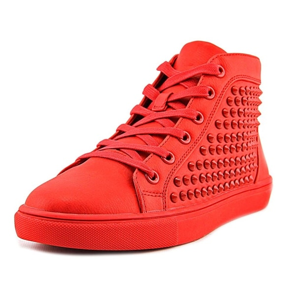 Steve Madden Levels Women Synthetic Red Fashion Sneakers