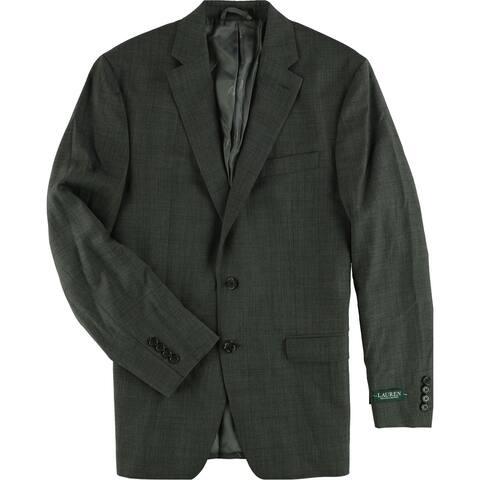 Ralph Lauren Mens Classic-Fit Two Button Blazer Jacket