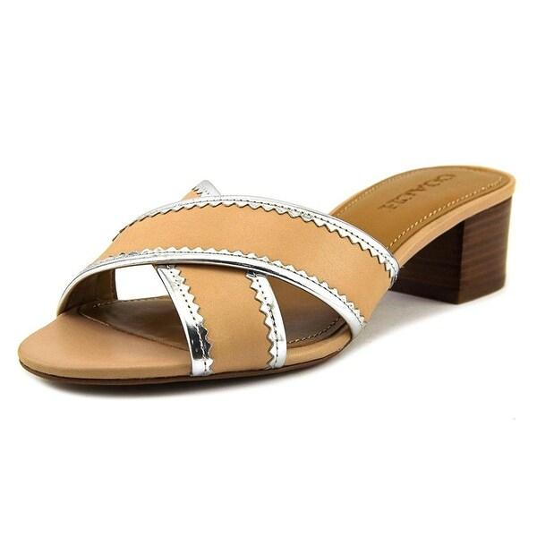 Coach Womens Murielle Open Toe Casual Slide Sandals