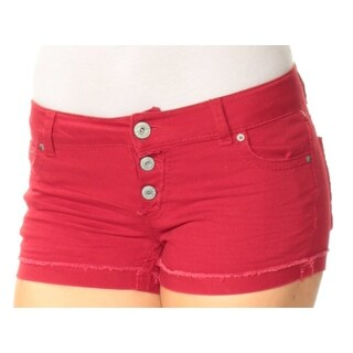 Womens Red Short Juniors Size 5