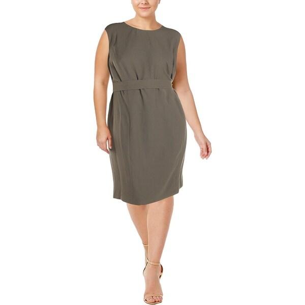 d26c0a6896 Shop Nine West Womens Plus Wear to Work Dress Sleeveless Office Wear ...