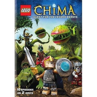 LEGO-LEGENDS OF CHIMA-SEASON 2 PART 1-QUEST FOR LEGEND BEASTS (DVD)