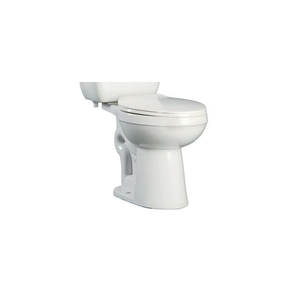 PROFLO PF9803 Ultra High Efficiency 0.8 Elongated ADA Height Toilet Bowl - Less Seat and Tank - White