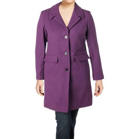 1 Madison Womens Car Coat Winter Wool