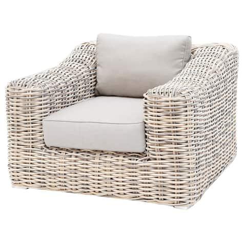 Hawaii Outdoor Patio Furniture Durable Rattan Wicker Arm Chair