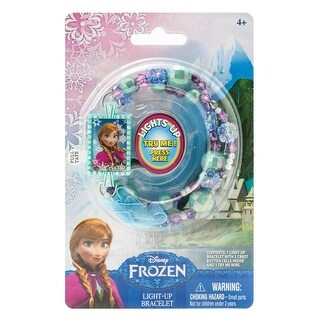"Disney's Frozen Light-Up Bead Bracelet: ""Anna"""