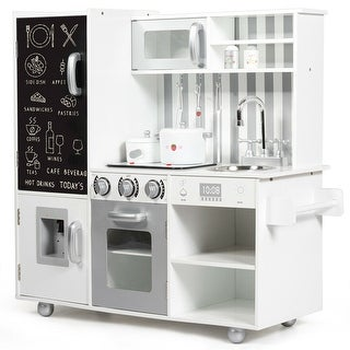 Link to White Kids Kitchen Playset Cooking Toys Similar Items in Pretend Play