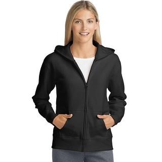 Hanes ComfortSoft ; EcoSmart® Women's Full-Zip Hoodie Sweatshirt