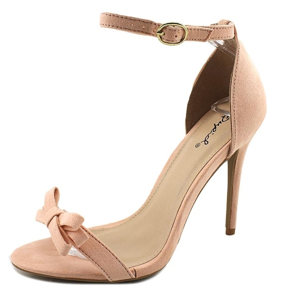 Qupid Ara-245 Women Open Toe Synthetic Pink Sandals