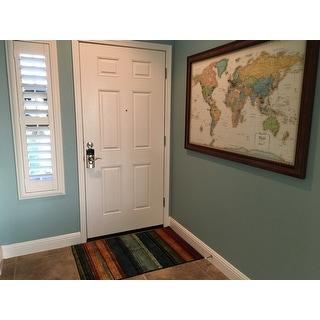 Mohawk Home New Wave Rainbow Stripe Area Rug (2'6 x 3'10)