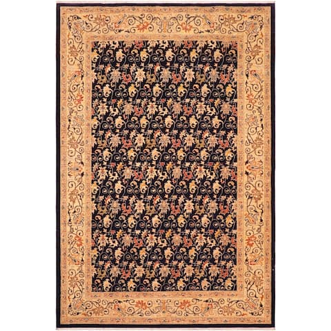 """Boho Chic Ziegler Brunilda Hand Knotted Area Rug -6'3"""" x 9'0"""" - 6 ft. 3 in. X 9 ft. 0 in."""