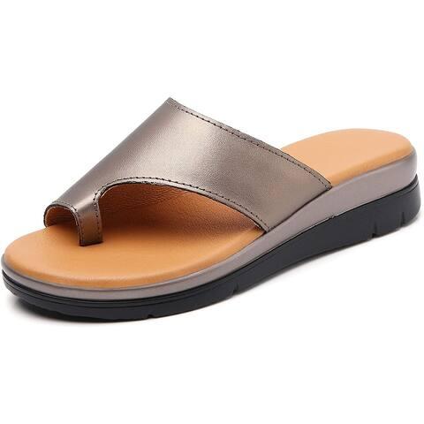 Bunion Sandals for Women Comfy - Bunion Corrector Platform Shoes BSP-2 Genuin... - 9