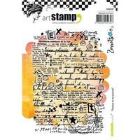 Carabelle Studio SA60299 Texture in My Journal Cling Stamp