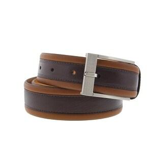 Tommy Bahama Mens Leather Colorblock Dress Belt - 36