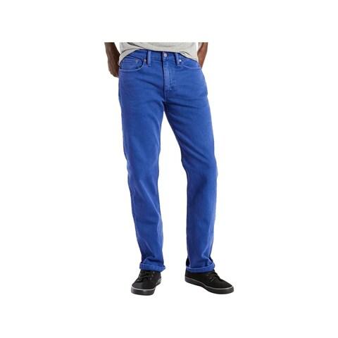 Levi's Mens 514 Straight Leg Jeans Regular Fit Classic Rise - 34/36