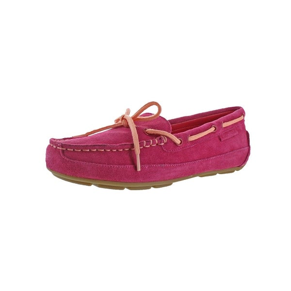 8ce8a19f123 Shop Cole Haan Girls Grant Driver Driving Moccasins Boat Shoes ...