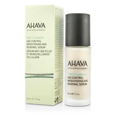 Ahava Time To Smooth Age Control Brightening And Renewal Serum 30Ml/1Oz