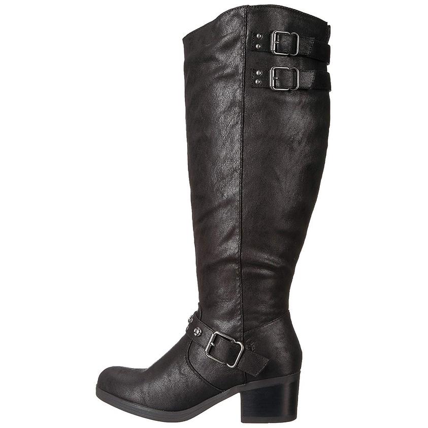 Malbec Size 5.0 Carlos by Carlos Santana Womens ashby Fabric Almond Toe Ankle