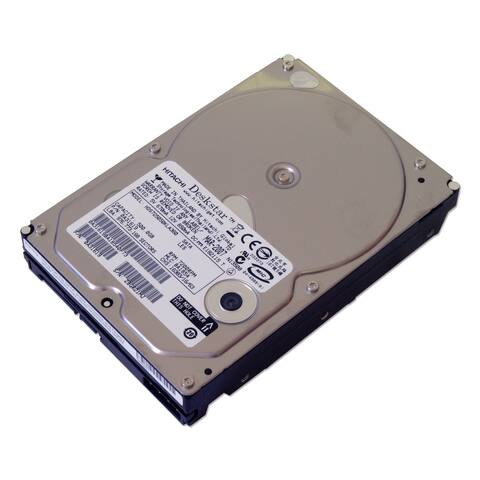 "HGST HDS725050KLA360 500GB 7.2K RPM 3.5"""" SATA Hard Drive, Silver (Refurbished)"