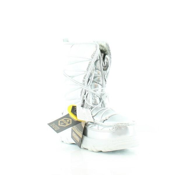 Khombu Sasha Women's Boots Silver
