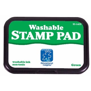 Educational Insights 080872 Washable Stamp Pad, Green