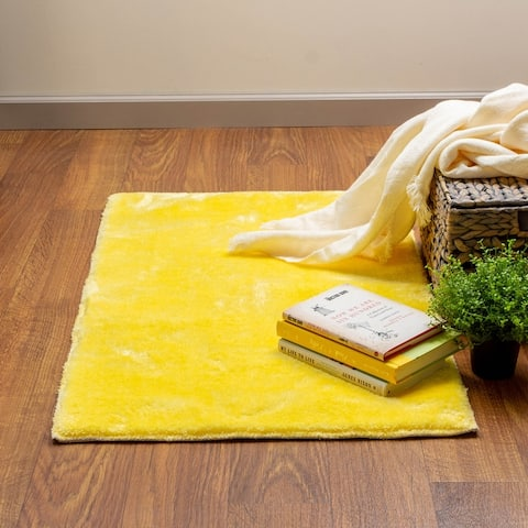 Heavenly Faux Area Rug - Soft & Plush Pile
