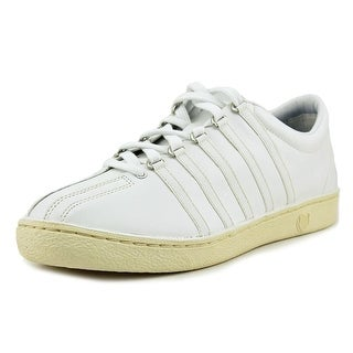 K-Swiss Classic 66 Men  Round Toe Leather White Tennis Shoe