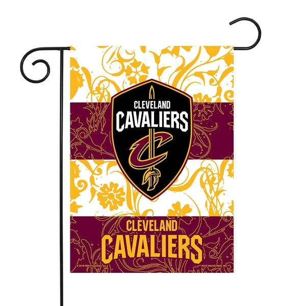 "18"" x 13"" Yellow and Purple NBA Cleveland Cavaliers Outdoor Garden Flag - N/A"