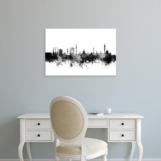 Easy Art Prints Michael Tompsett's 'Hannover Germany Skyline' Premium Canvas Art