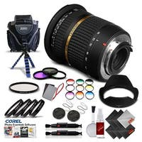Tamron SP AF 10-24mm f / 3.5-4.5 DI II Lens For Pentax International Version (No Warranty) Pro Kit - black