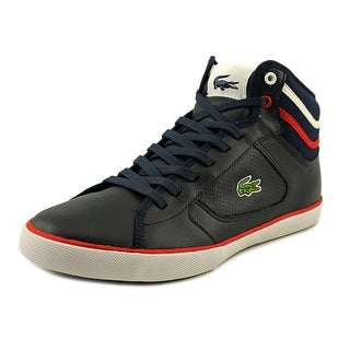 Lacoste Camous Men Round Toe Leather Sneakers