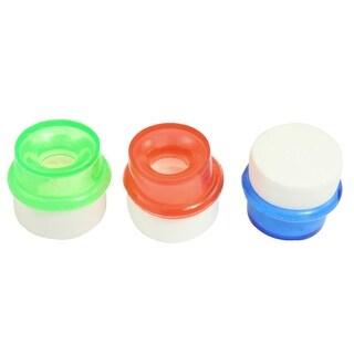 Unique Bargains Kitchen Plastic Faucet Purifier Filter 3 Pcs For 14mm Dia  Water Tap